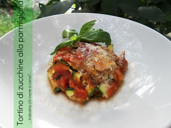 tortino parmigiana zucchine