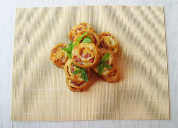 Rose di Prosciutto e Mozzarella