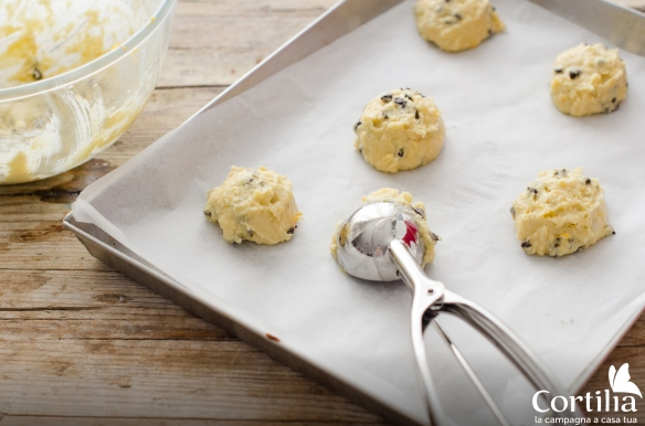 biscotti ciocc arancia - step 2