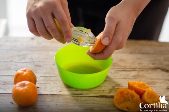 torta clementine - step 1