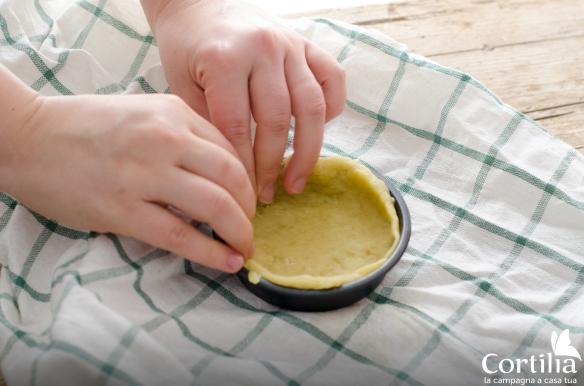 quiche veg - step 1