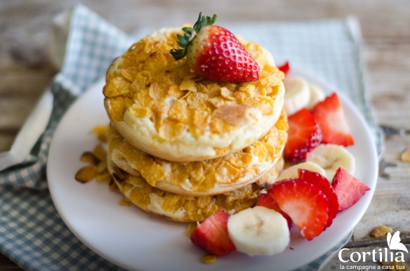 Cornflakes pancakes R