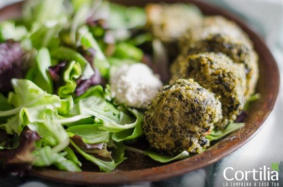 Falafel di quinoa e spinaci-3R