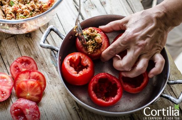 Pomodori ripieni di cereali2R