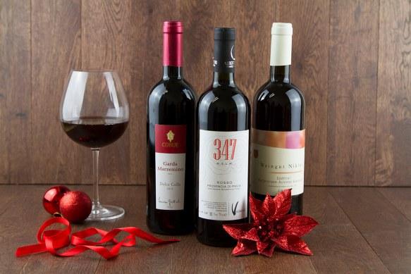 Tris di vini rossi Cortilia