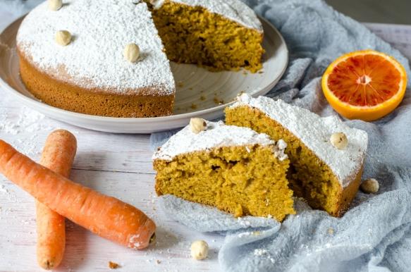 Torta di carote e nocciole-7 Ridotte